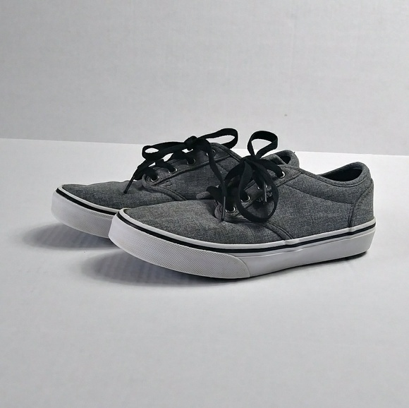 2b2171df56 Grey Vans Off The Wall Shoes. M 5ac7fc2e3b16086da1d61cda